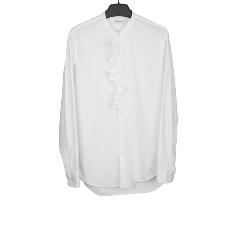 DRIES VAN NOTEN RUFFLE COLLAR SHIRT