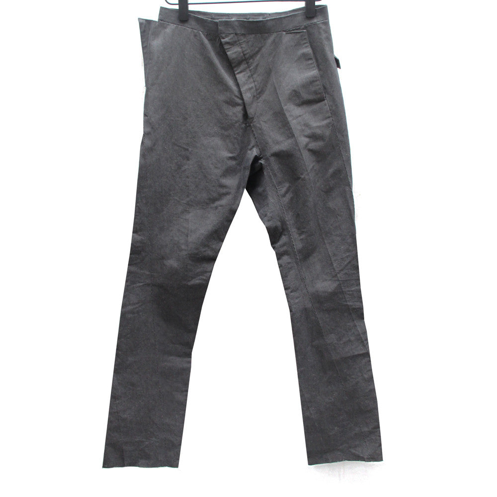 CAROL CHRISTIAN POELL COTTON RAMIE SPLINTER LOW CROTCH PANTS