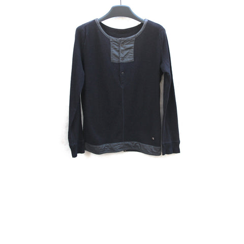 MIHARAYASUHIRO MILITARY KNIT LONG SLEEVE SWEATER