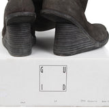 GUIDI 6010 SOFT HORSE FULL GRAIN REVERSED PULL-ON BOOT W/ WEDGE