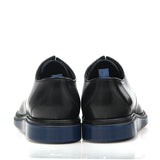 DIOR HOMME AW14 BLUE SOLE CLASSIC LEATHER SHOES