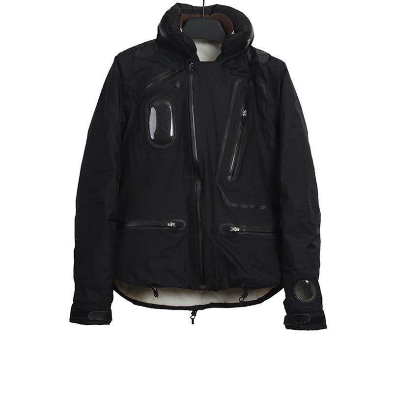 UNDERCOVER 08AW PADDED GORE-TEX HOODED RIDER JACKET
