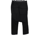 DRKSHDW RICK OWENS HEAVY COTTON DRAWSTRING DROP CROTCH PANTS