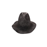 "REINHARD PLANK ""SPAVENTA"" FADED RABBIT FUR HAT"