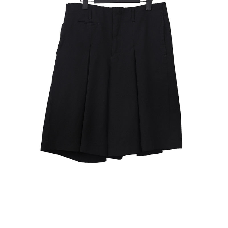 COMME DES GARCONS HOMME PLUS PLEATED WIDE LET SHORTS