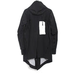 11 BY BORIS BIDJAN SABERI WATER- RESISTANT HIGH TECH INSULATION PARKA JACKET