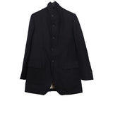 PAUL HARNDEN SHOEMAKERS WOOL LINEN BLEND CLASSIC MAC JACKET