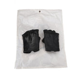 CAROL CHRISTIAN POELL HORSE LEATHER OBJECT DYED FINGERLESS GLOVE