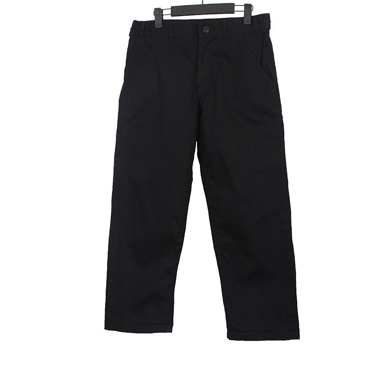BLACK COMME DES GARCONS 12SS BLACK STRAIGHT LEG PANTS