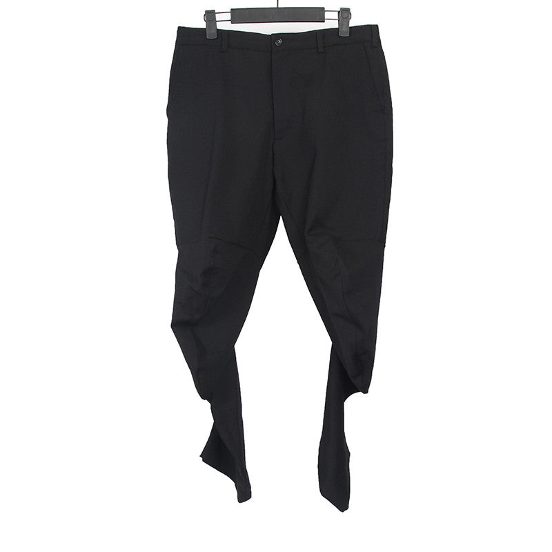 COMME DES GARCONS 12AW WOOL TWISTED LEG PANTS