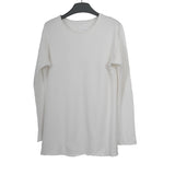 GREG LAUREN FLEECE PULLOVER LONG SLEEVE TEE SHIRT