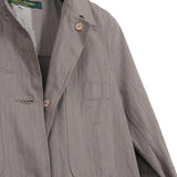 PAUL HARNDEN SHOEMAKERS COTTON BUTTON DOWN WORKER COAT WITH BACK POCKET