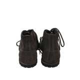 GUIDI 720 LACE UP REVERSE LEATHER BOXING BOOTS WITH ROUND PATCH TAG