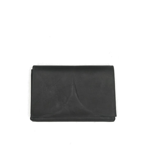 MA+ BY MAURIZIO AMADEI CALF LEATHER LARGE WALLET