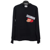 CHRISTOPHER SHANNON 15AW BLEND PRINTED PATCH SWEATSHIRT