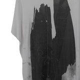 MA_JULIUS SILK BLEND OVERSIZE GRAPHIC TEE