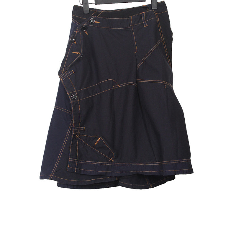 TRICOT COMME DES GARCONS 14SS DECONSTRUTED ASYMMETRIC SKIRT