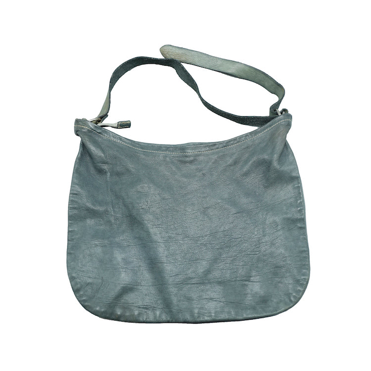 GUIDI Q20 GREY(CO11T) LARGE HORSE LEATHER FULL GRAIN SHOULDER BAG