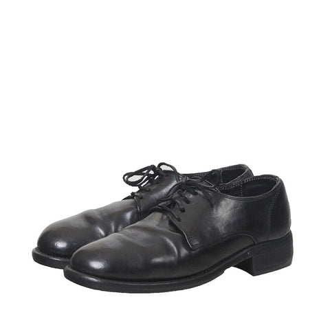 GUIDI 992 HORSE LACE UP LEATHER DERBY