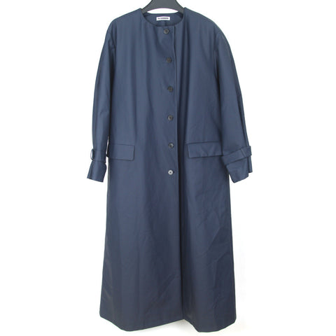 JIL SANDER WATER REPELLENT EXTRA LONG COAT JACKET