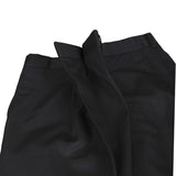 COMME DES GARCONS 13AW POLYESTER FRONT FOLD UP WIDE LEG SHORTS