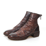 GUIDI 788Z BACK ZIP HORSE LEATHER BOOTS