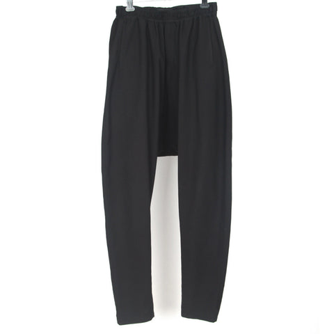 DAMIR DOMA VIRGIN WOOL DROP CROTCH PANTS