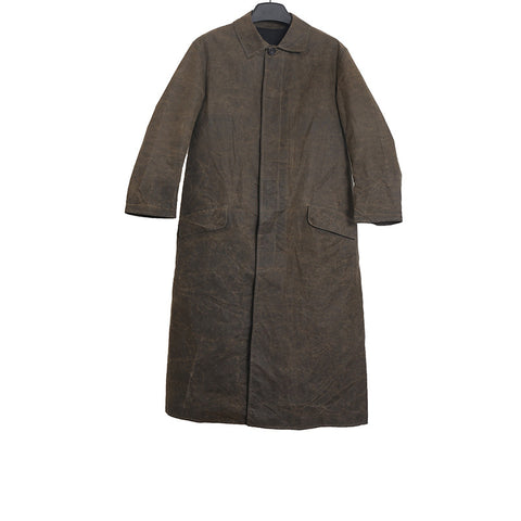 PAUL HARNDEN SHOEMAKERS WAX COTTON BUTTON DOWN WORKER COAT