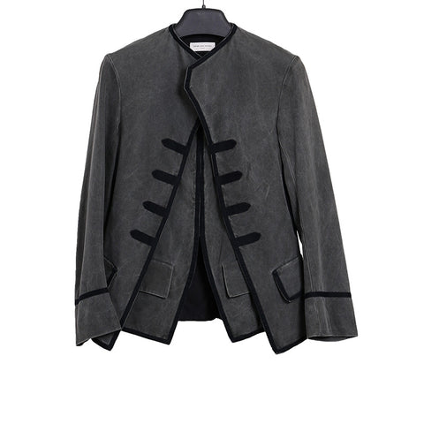 DRIES VAN NOTEN NAPOLEON MILITARY JACKET WITH VEST LAYER