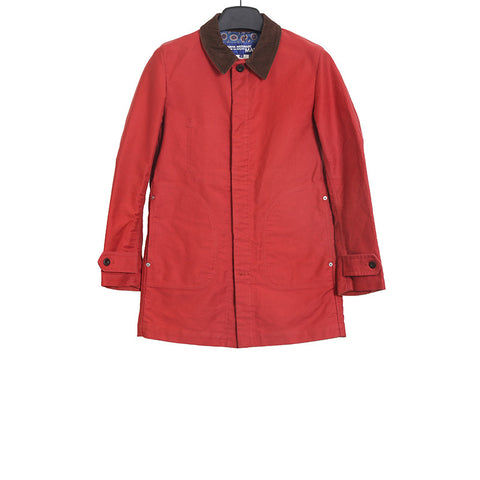 JUNYA WATANABE COMME DES GARCONS MAN AW12 RED CANVAS FIELD JACKET
