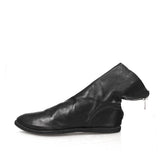 GUIDI 586 BACKZIP LEATHER BOOTS W/ HIDDEN INSOLE