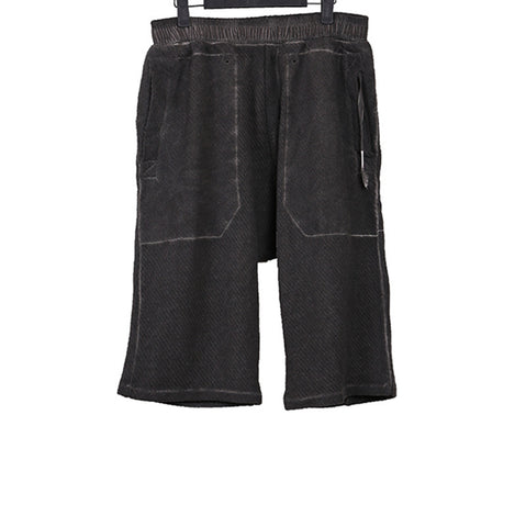 SILENT BY DAMIR DOMA TAUPE DYED SHORTS
