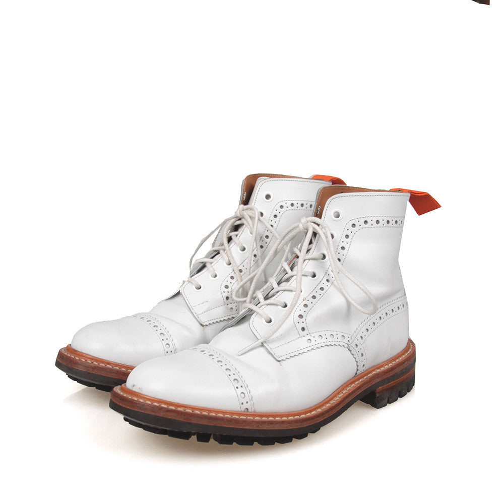 TRICKER'S X JUNYA WATANABE LEATHER BOOTS
