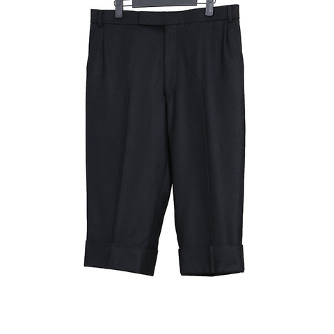 THOM BROWNE CLASSIC BELTLOOP GROUCHO CROPPED PANTS