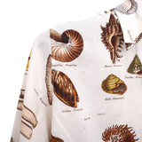 "PAUL HARNDEN SHOEMAKERS SS16 ""SHELL"" PRINT COTTON CLASSIC SHIRT"