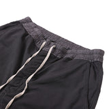 DRKSHDW BY RICK OWENS DRAWSTRING DROP CROTCH PANTS