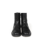 DIOR HOMME SIDE ZIP LEATHER BOOTS