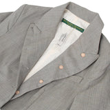 PAUL HARNDEN GRAY BROWN CHECK MAC COAT