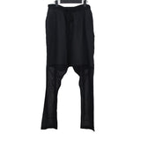 DAMIR DOMA SS13 LIGHT WEIGHT COTTON LINEN PLEATED LOW CROTCH TROUSERS