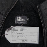 LOST & FOUND AW13 SHEEP SHEARLING HOODED LEATHER JACKET