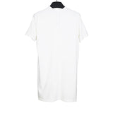 DRKSHDW BY RICK OWENS RIBBON DETAIL LONG TEE