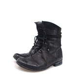 LAYER-0 HORSE LEATHER LACE BOOTS
