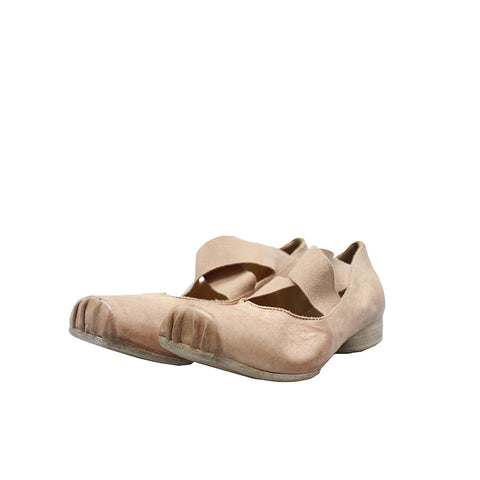 UMA WANG LEATHER BALLERINA BALLET SHOES
