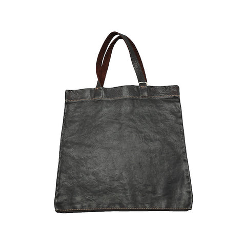 GUIDI SH0 BURGUNDY SOFT HORSE FULL GRAIN MINI SHOPPER TOTE BAG