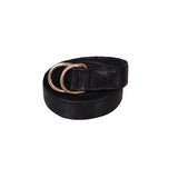 GUIDI BLT FULL GRAIN BISON LEATHER BELT