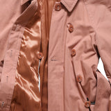 CHRISTOPHE LEMAIRE AW17 DUSTY PINK COTTON WADDED LOND COAT