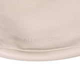 HELMUT LANG SMALL CALF LEATHER LOGO SHOULDER BAG