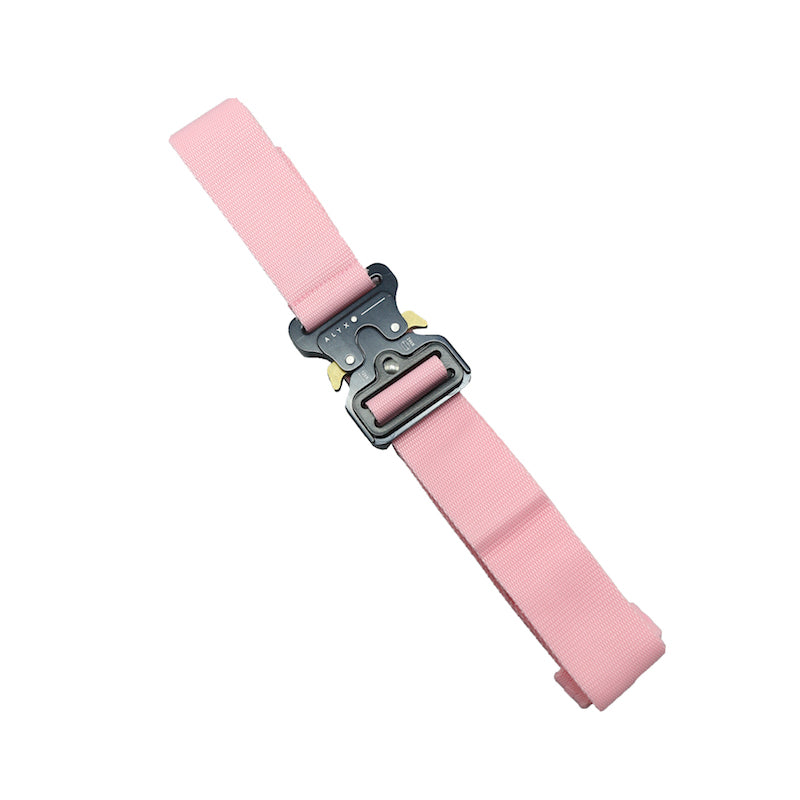 ALYX SS17 PINK POLYESTER ROLLERCOASTER BELT
