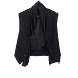 HAIDER ACKERMANN FLEECE WOOL VEST