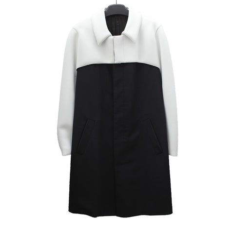 RAF SIMONS LAYERED COAT W/ OPTIONAL BELT